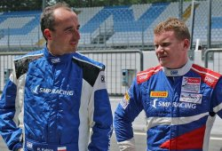 Robert Kubica se sube al Dallara P217 de SMP Racing