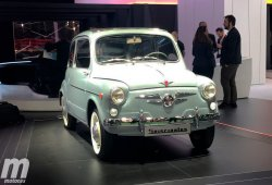 SEAT presenta en Barcelona un 600 D restaurado para celebrar su 60 aniversario
