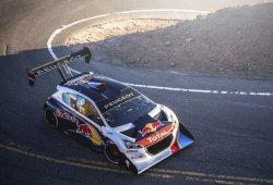 Sébastien Loeb y su Peugeot 208 T16 PPIHC, otro baile más