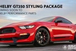 Shelby presenta nuevo kit estético para los Ford Mustang Shelby GT350