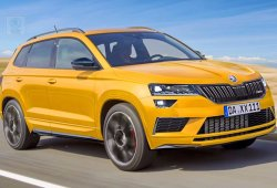 Skoda Karoq RS: la marca deja la puerta abierta al rival del SEAT Ateca CUPRA