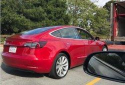 Descubiertos cerca de 100 prototipos del Tesla Model 3 realizando pruebas en Ohio