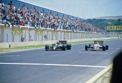 [Vídeo] GP España 1986: Senna frena a Mansell en un final de infarto