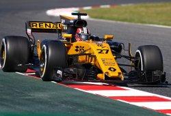 Gran primer día de Renault, que pisa los talones a Red Bull