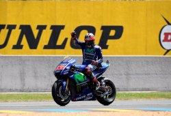 Viñales gana el GP de Francia tras las caídas de Márquez y Rossi
