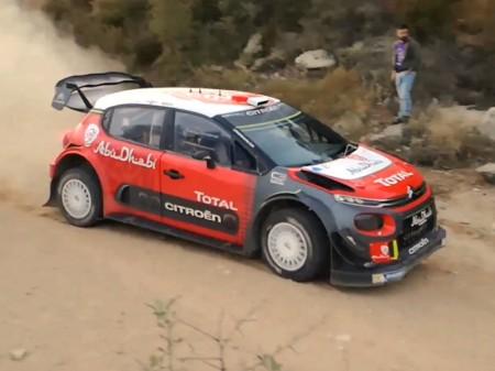 Citroën elige Cerdeña para sus test previos a Portugal