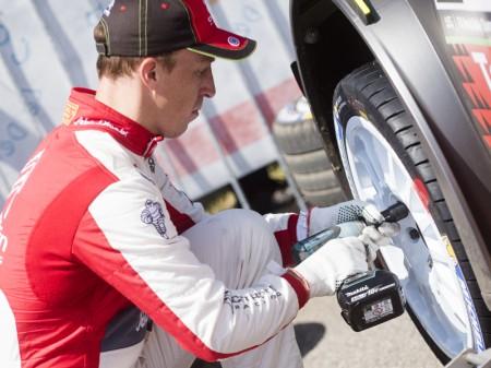 Cuatro Citroën C3 WRC a la toma del Rally de Portugal