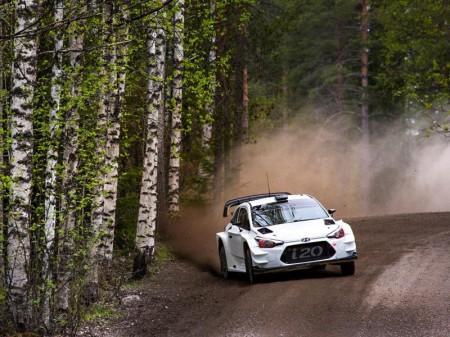 Dani Sordo prepara con Hyundai el Rally de Finlandia