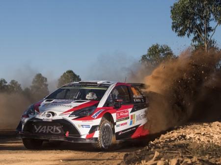 Jari-Matti Latvala ejerce de líder en el Rally de Portugal