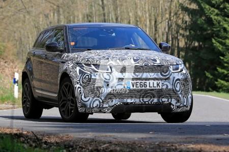 Range Rover Evoque 2019: continúa el desarrollo de la segunda generación