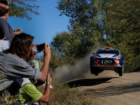 Sordo lidera el shakedown del Rally de Portugal sobre Ogier