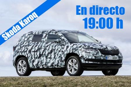 Skoda Karoq 2018: sigue en directo la presentación del nuevo SUV de Skoda