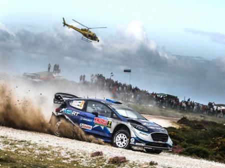 Tänak saca rédito en la criba vivida en el Rally de Portugal
