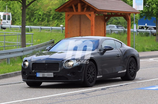 Bentley Continental GT 2018 - foto espía