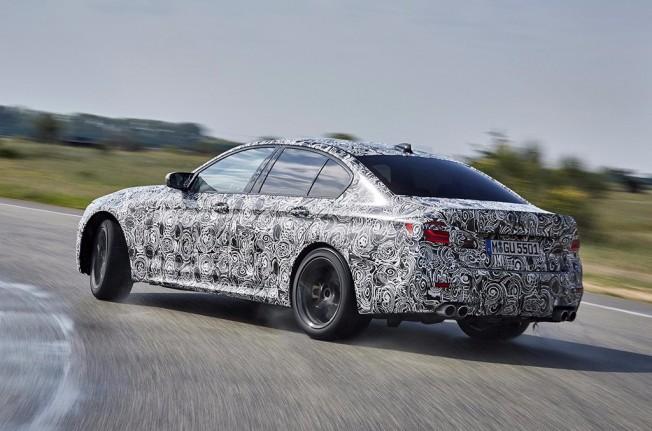 BMW M5 2018 con M xDrive