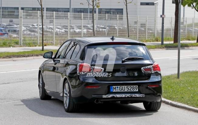 BMW Serie 1 2018 - foto espía posterior