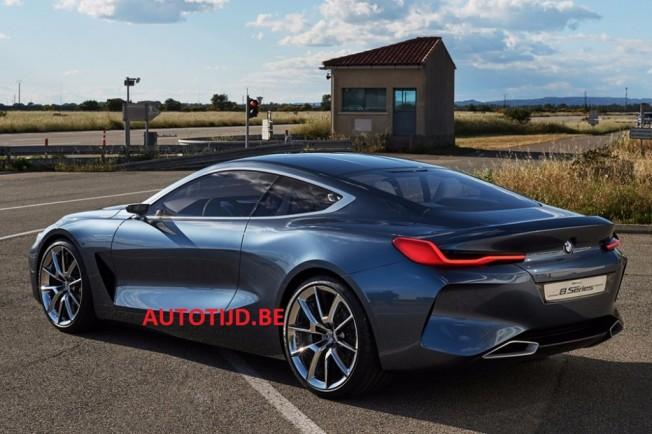 BMW Serie 8 Concept 2017 - imagen filtrada