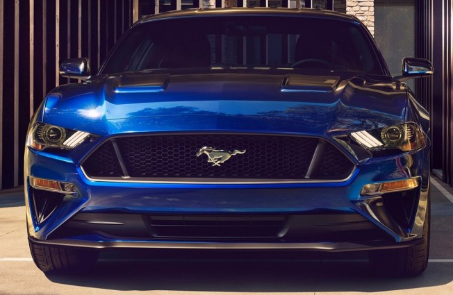Ford Mustang 2018 - frontal