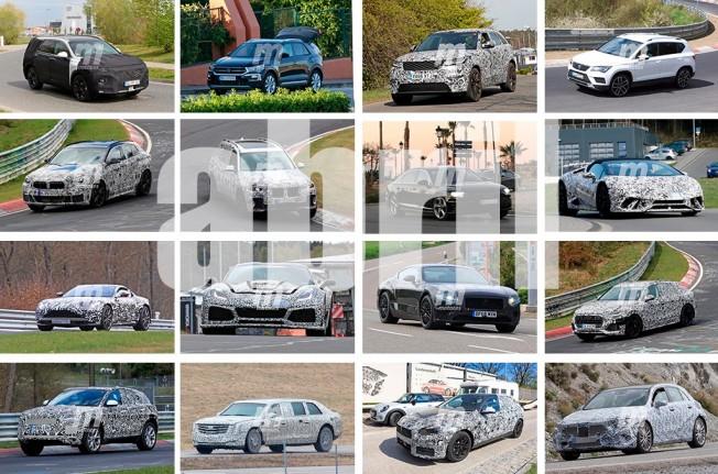 Fotos espía de coches - Abril 2017