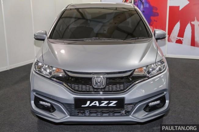 Honda Jazz 2017 - frontal