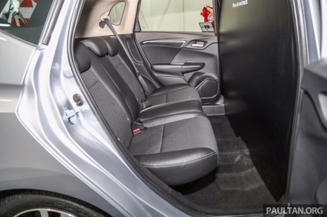 Honda Jazz 2017 - interior