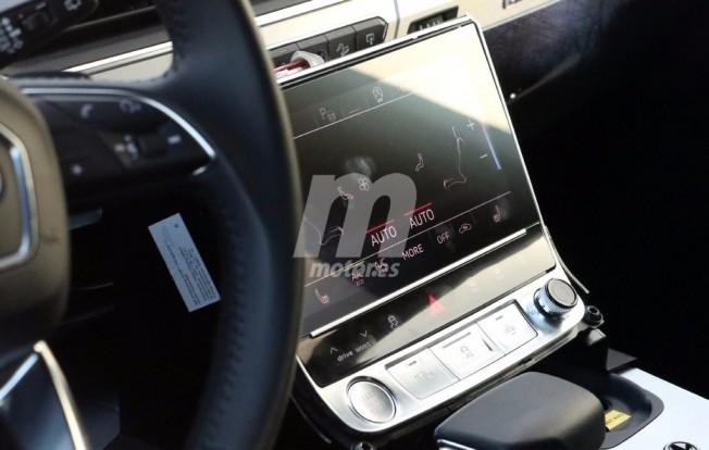 Audi Q8 2018 - foto espía interior