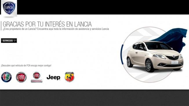 Lancia web española
