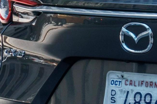Mazda CX-8 2018 - foto espía