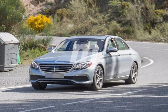 Mercedes E 350 e 2018 - foto espía