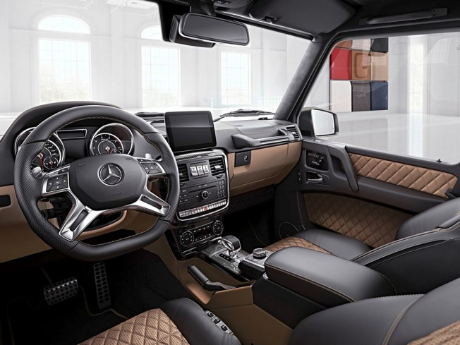 Mercedes G 63 AMG Exclusive Edition - interior