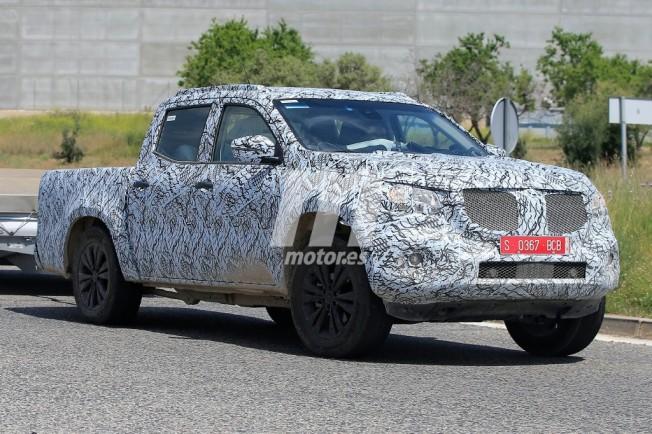 Mercedes Clase X 2018 - foto espía