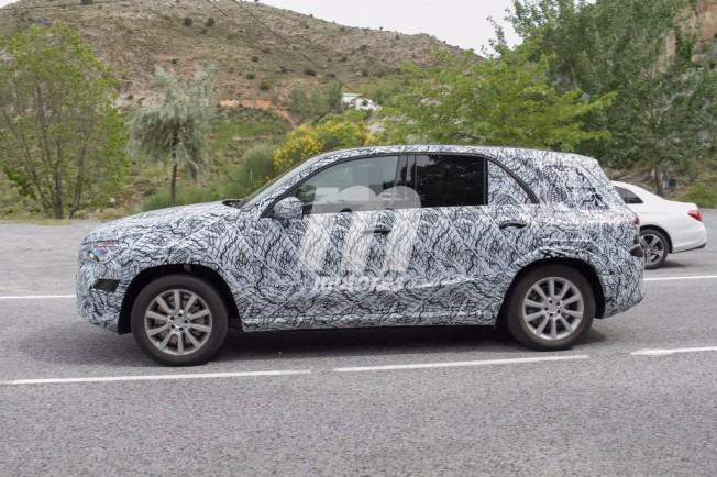 Mercedes GLE 2019 - foto espía lateral