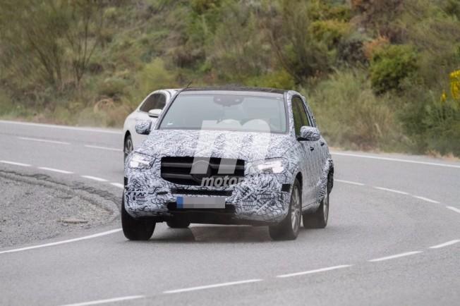 Mercedes GLE 2019 - foto espía