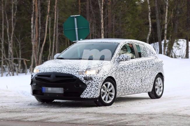 Opel Corsa F - foto espía