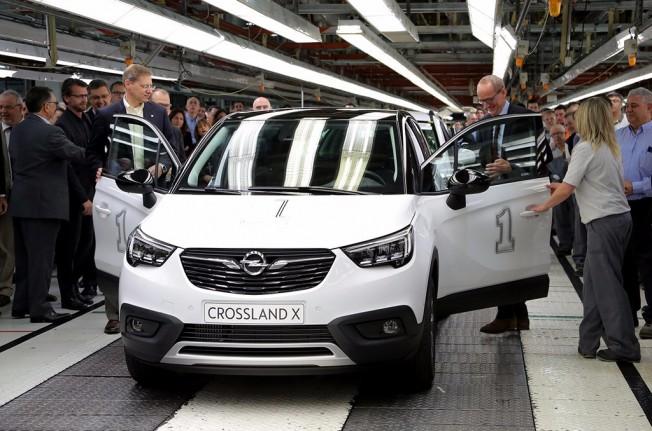 Opel Crossland X - producción