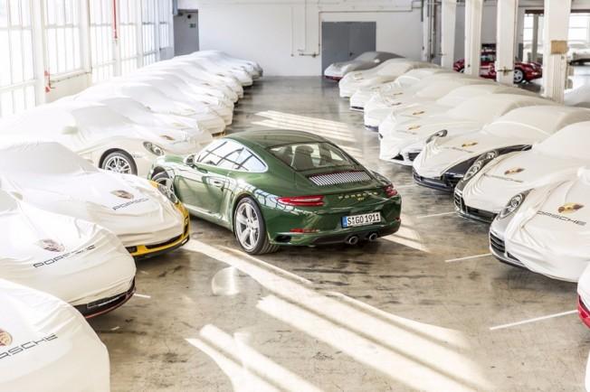 Porsche 911 número un millón