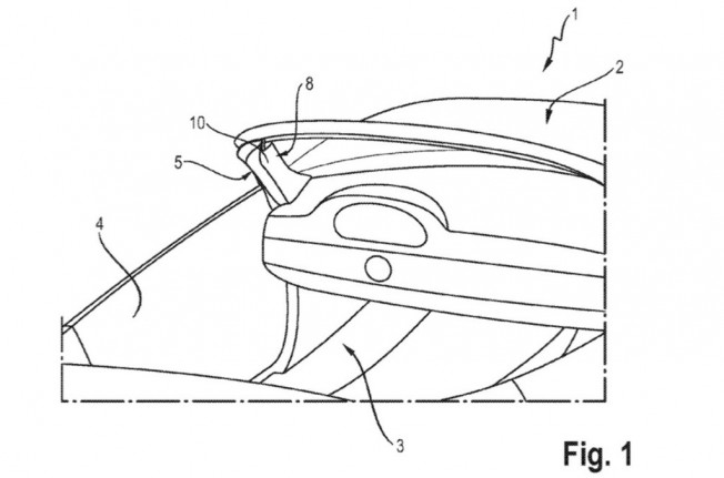 Porsche patenta un airbag en el pilar A para descapotables