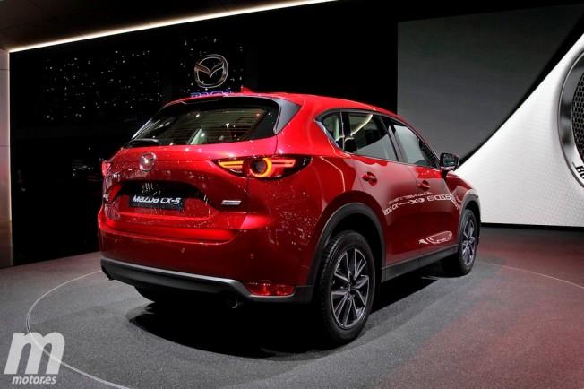 Mazda CX-5 2017 - posterior