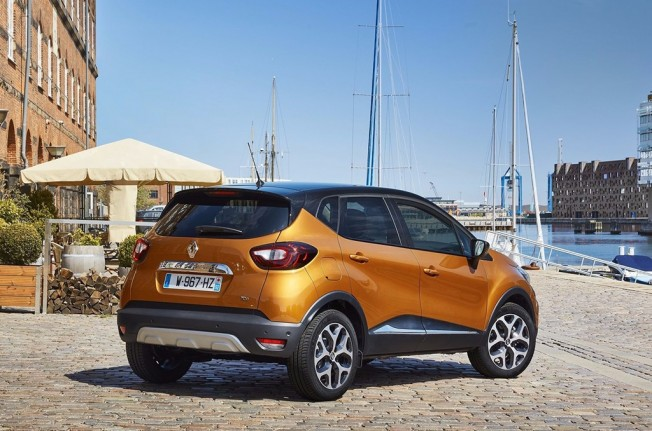 Renault Captur 2017 - posterior