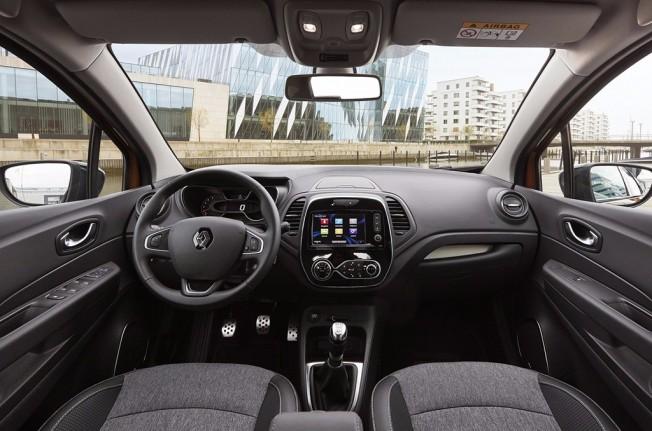 Renault Captur 2017 - interior