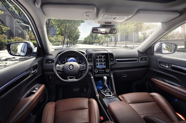 Renault Koleos 2017 - interior