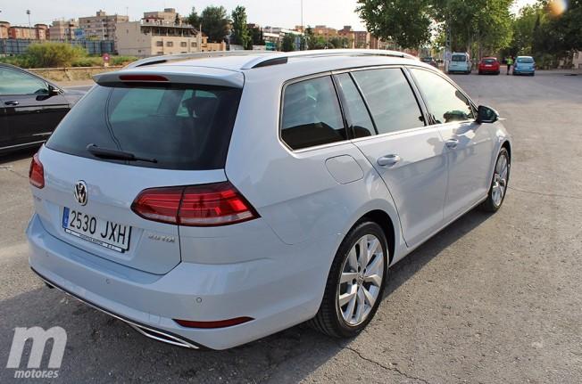 Volkswagen Golf Variant 2017 - posterior