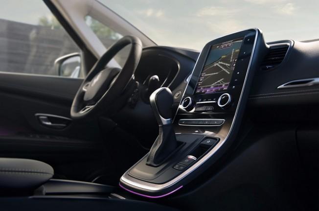 Renault Scénic Initiale Paris 2017 - interior