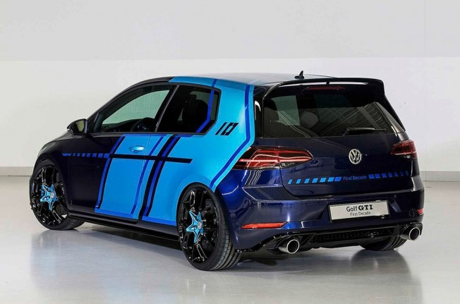 Volkswagen Golf GTI First Decade Concept - posterior