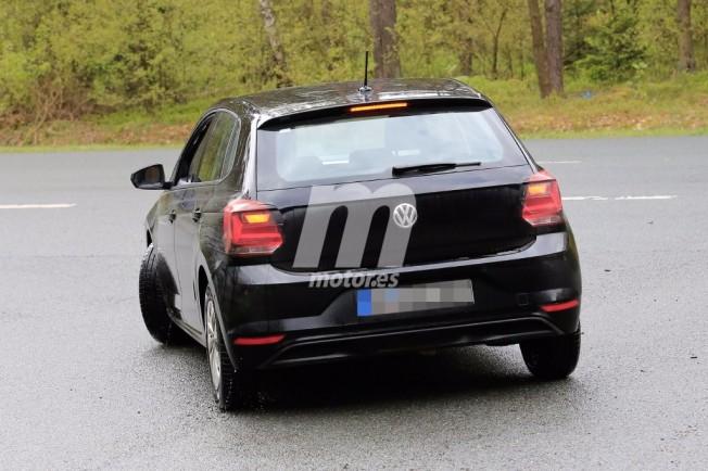Volkswagen Polo 2017 - foto espía posterior