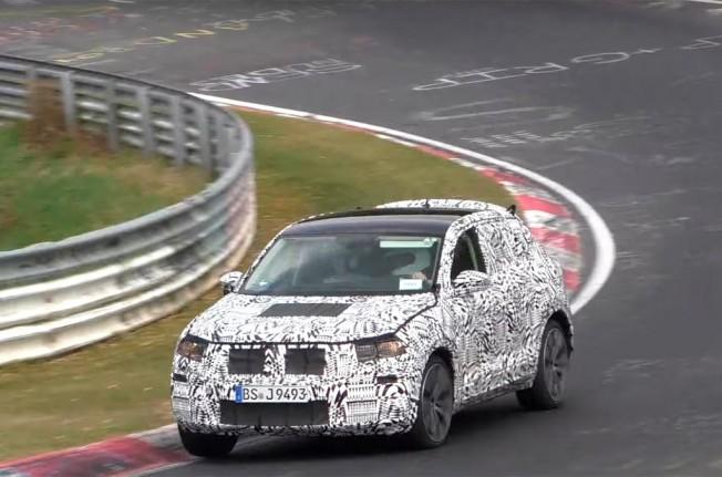 Volkswagen T-ROC 2018 - foto espía en Nürburgring