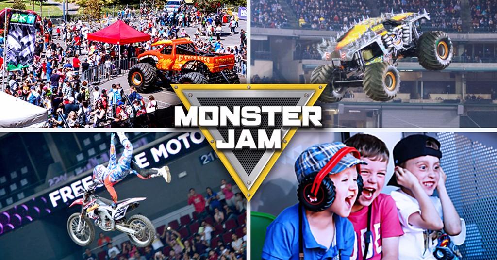 Monster Jam 2017: los monstruos del motor están preparados para volver a rugir