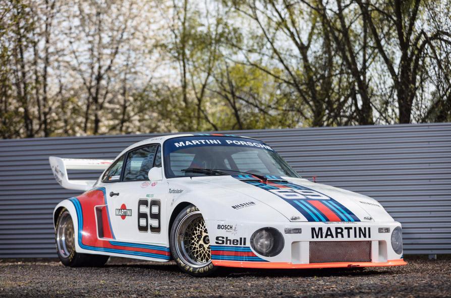 Espectacular Porsche 934/5 Kremer Group 4 Martini a subasta
