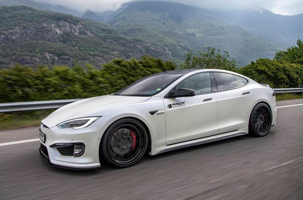 Prior Design crea un «traje a medida» para el Tesla Model S