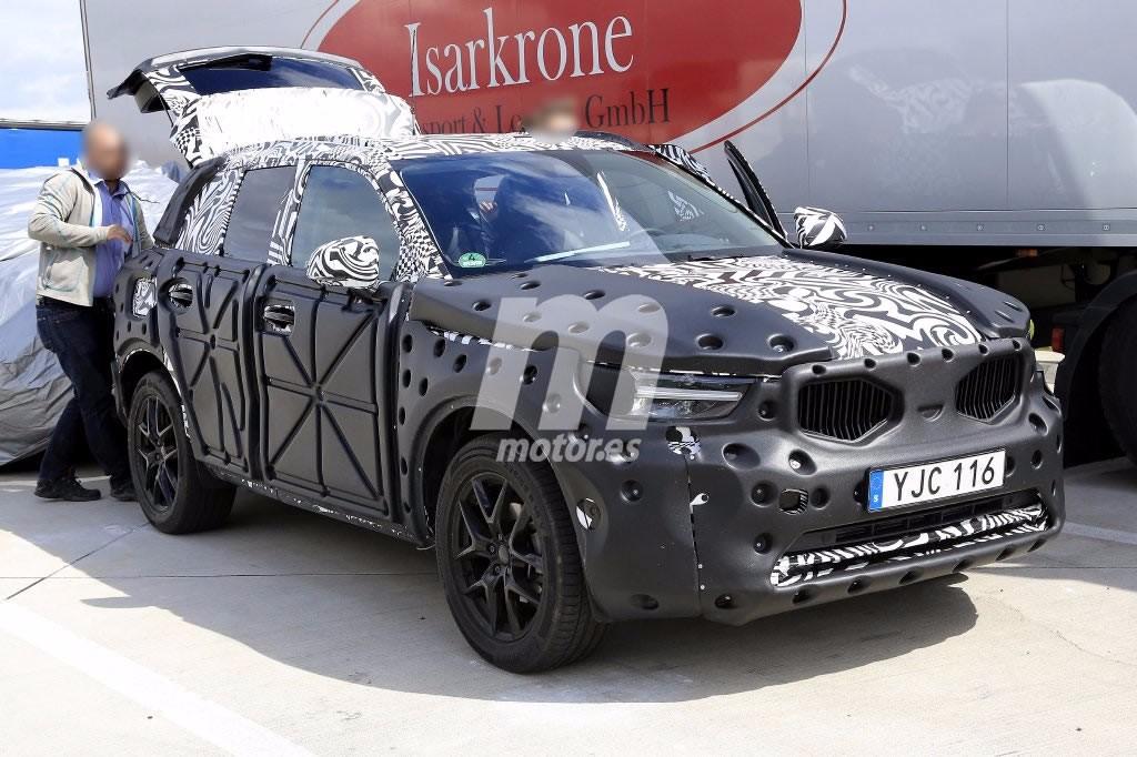El Volvo XC40 2018 continúa con su desarrollo en Alemania